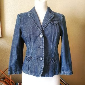 AMERICAN EAGLE Outfitters stretch denim jacket